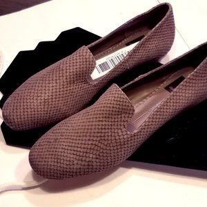 Dolce Vita Nariko Leather Smoking Loafer Mules EUC